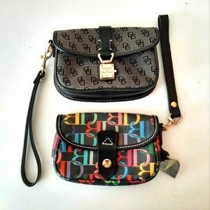 Dooney and Bourke small Wristlets